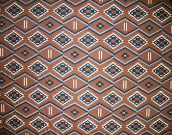 Brown Aztec Close-up