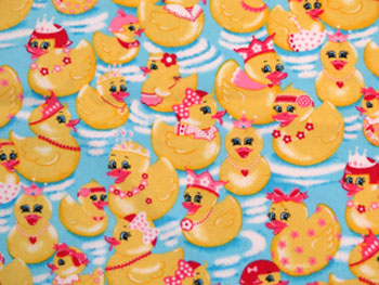 Rubber Ducks Close-Up