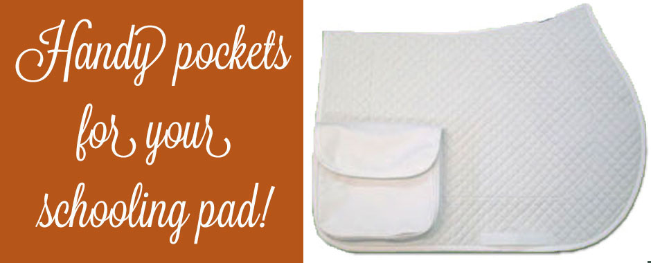 Pocket Saddle Pads